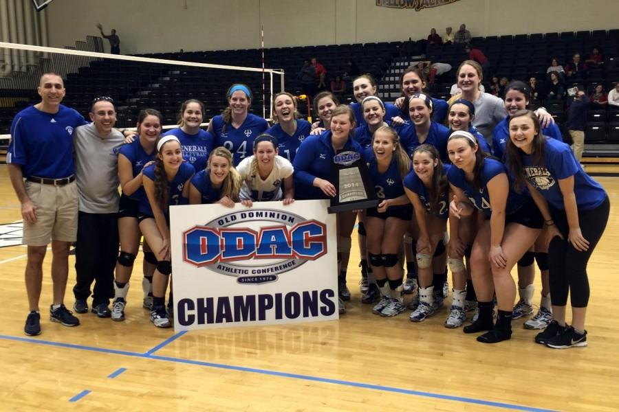 Volleyball spikes three-peat victory