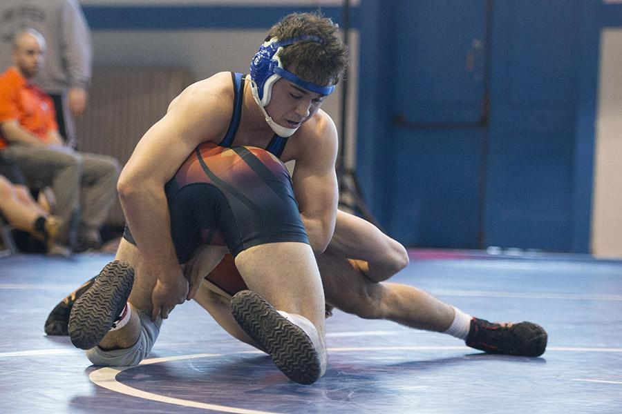 Junior captain Ron Tassoni is optimistic about the season. Photo courtesy of W&L Sports Information.