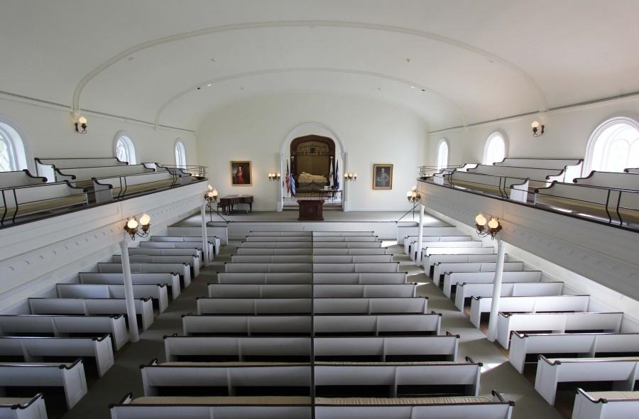 Lee Chapel to close for renovations, installations
