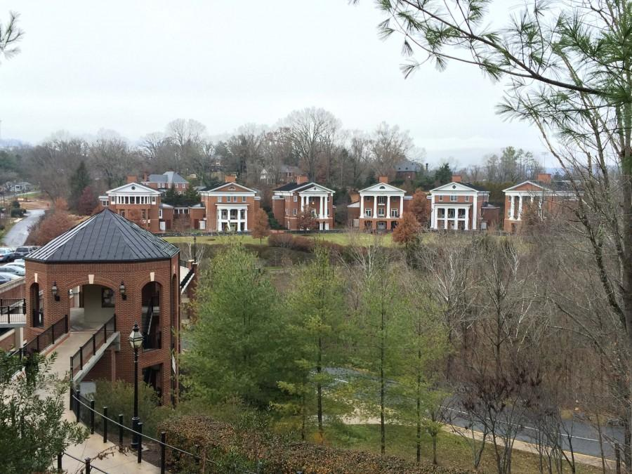 """From Jan. 13-16,  women will line up along """"Sorority Row"""" for formal recruitment."""
