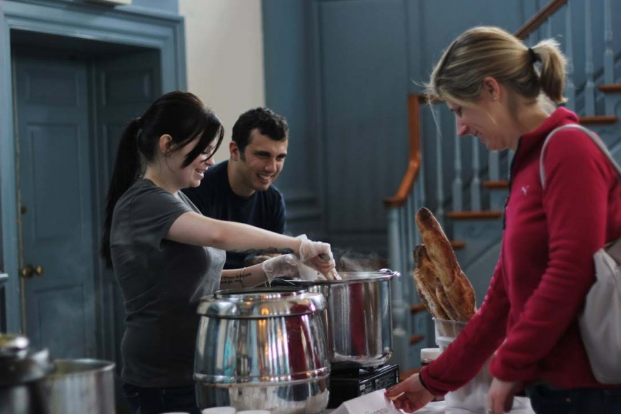 Lexington restaurants dish out bowls of their best soups at the Souper Bowl to support Washington and Lee's Campus Kitchen.
