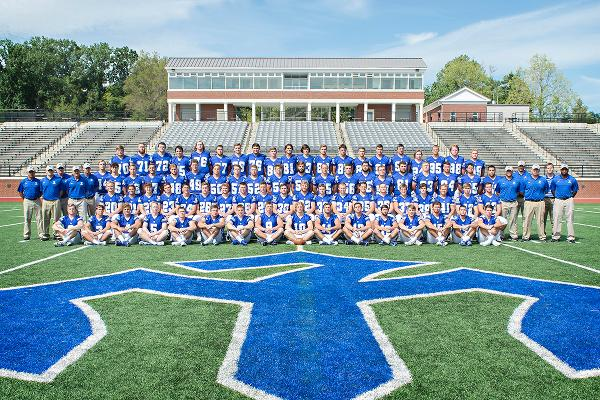 The 2015 Generals football team has 75 players on its roster, including 23 first-years. Photo courtesy of W&L Sports Info.