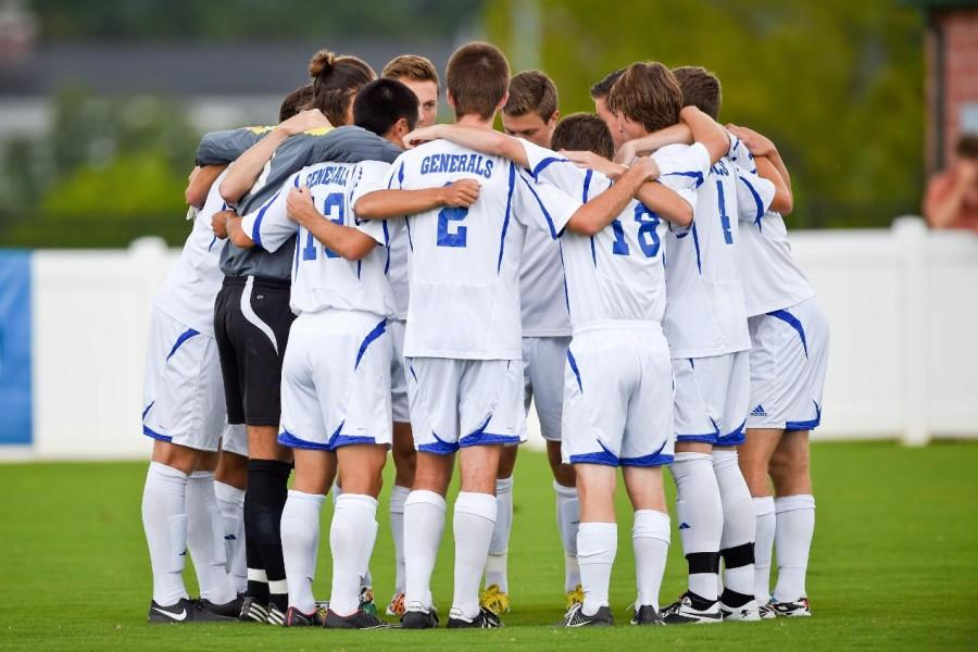 The 2015 Men's Squad has 12 first-year players on its roster and 17 returning athletes. Photo courtesy of W&L Sports Info.