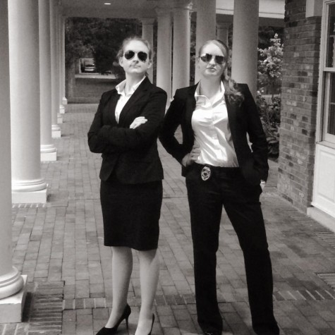 Mock Trial executive board members Sonia Brozak, '17, and Emily Webb, '17. Photo courtesy of the Mock Trial Facebook page.