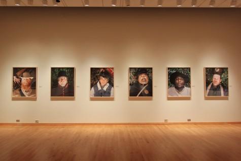 "Eliot Dudik's collection, ""Still Lives."" Photo by Ellen Kanzinger, '18."
