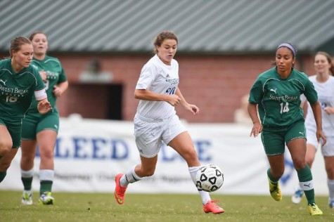 Tricia Jessee, '17, leads the team in goals with six on the year. Photo courtesy of W&L Sports Info.