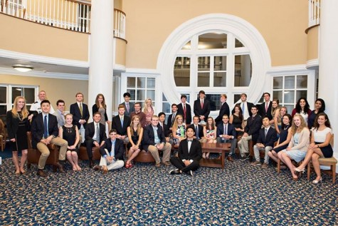 The 43 members of the LEAD program for the 2015-2016 school year. Photo courtesy of the LEAD Facebook page.