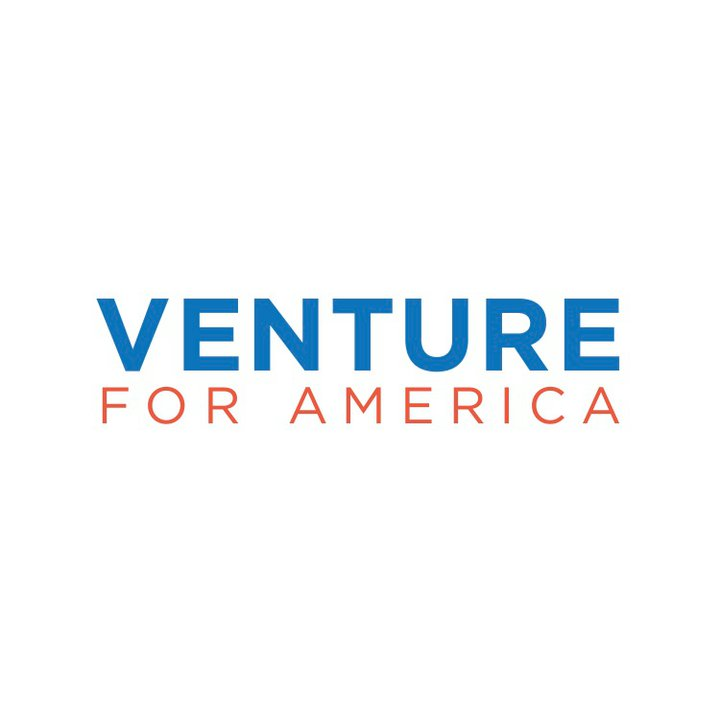 The Venture for America logo. Photo courtesy of the Venture for America Facebook page.