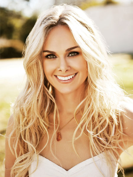 Laura Bell Bundy, the star of Broadway's Legally Blonde, who will hold a master class for the cast in January.  Photo courtesy of the Washington and Lee website.