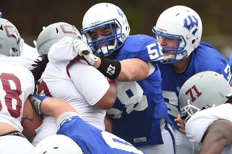 Football's historicwin streak ends in NCAA tournament