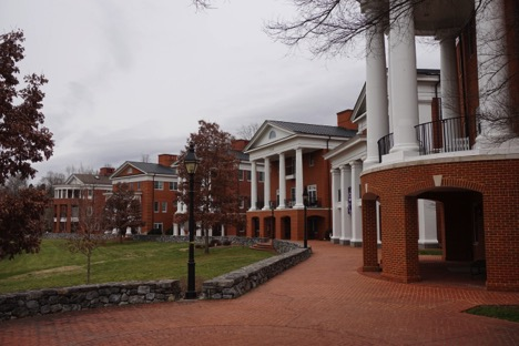 Sorority houses at W&L