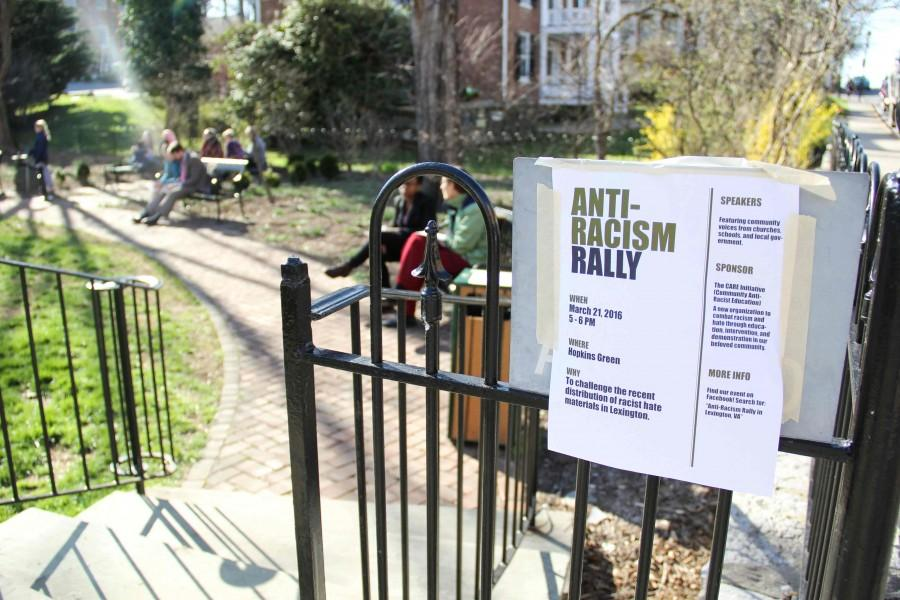 Anti-Racism Rally held at Hopkins Green
