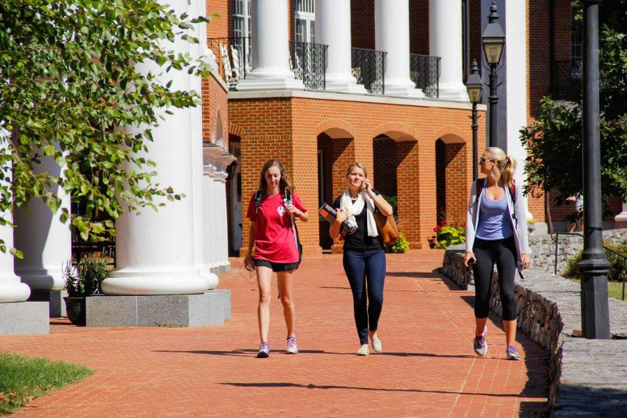 Sorority women face higher prices and less flexilibity with new meal plan.  Photo by Savannah Kimble '18.