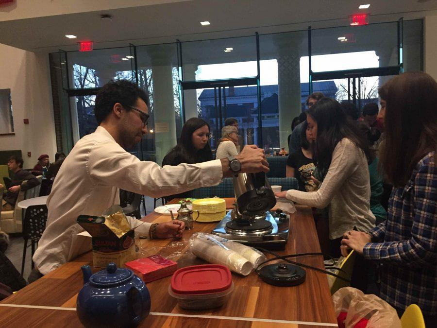 Collection of photos from the Moroccan cultural presentation. Photos by Xiaoxia Yin, '19.