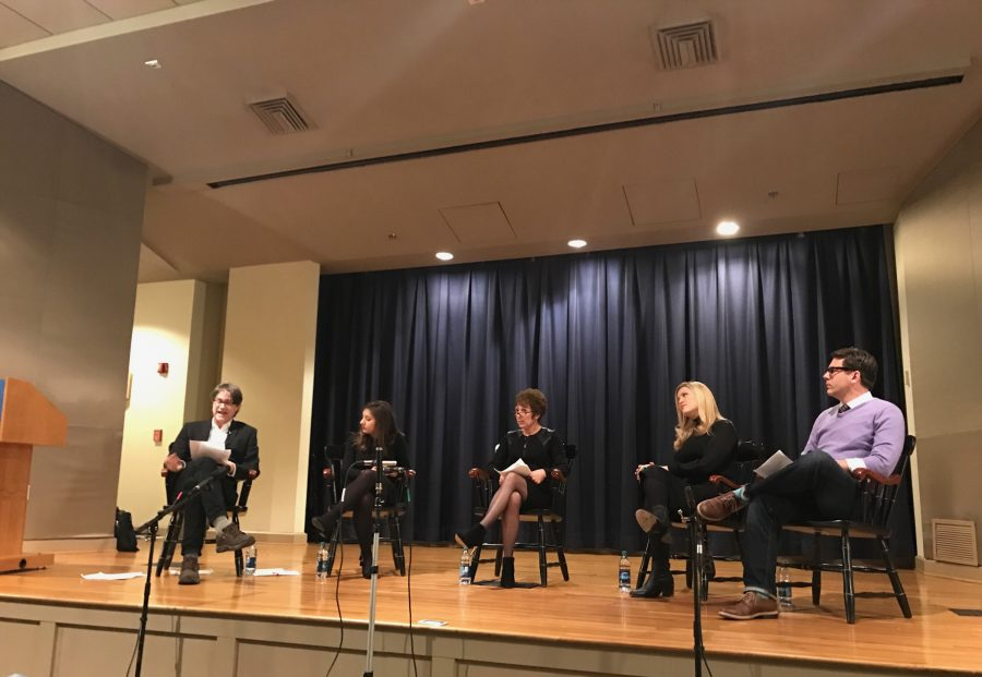 Reporters, professors discuss news and media in the