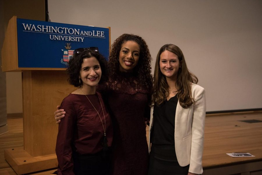 News anchor alumna shares industry tales with revamped club