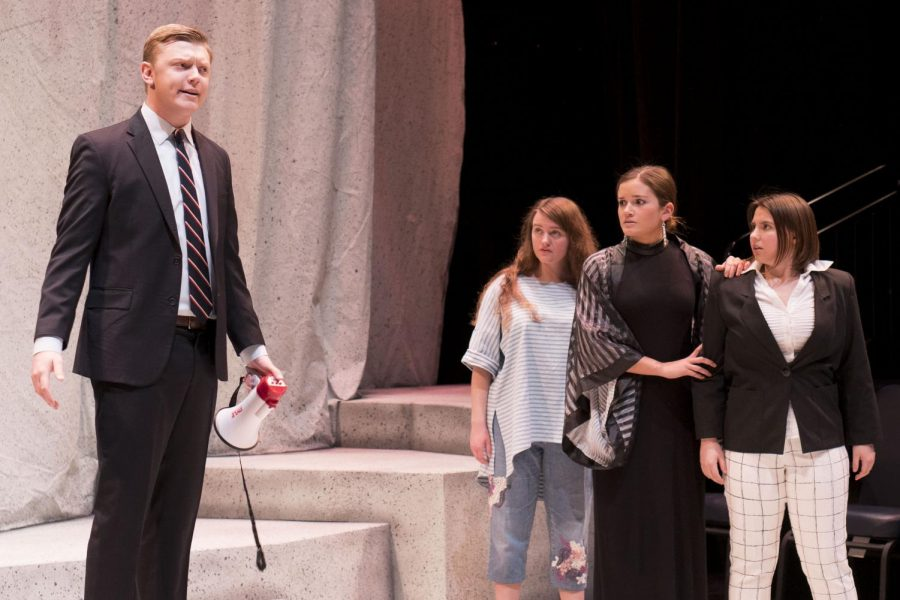 """The cast put on six productions of """"The Tragedy of Romeo and Juliet."""" Photo courtesy of Shelby Mack"""