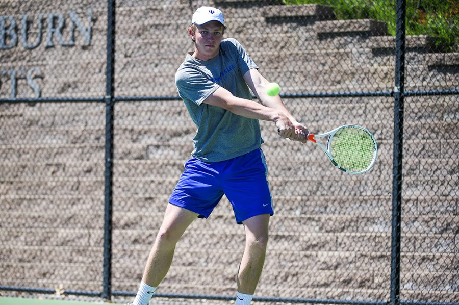 Men's tennis falls to Emory in second round of NCAAs after winning ODACs