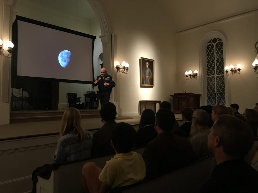 Captain+Scott+Kelly+captures+audience%2C+talks+future+of+missions+in+galaxy