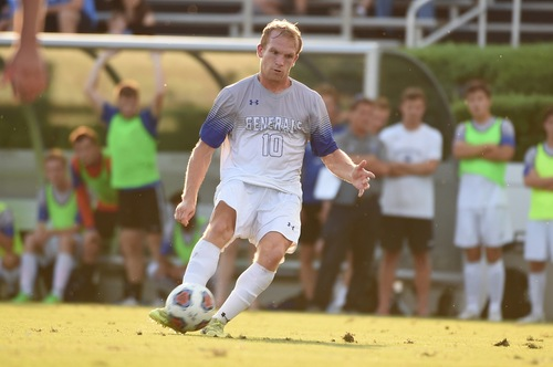 Dylan Ritch, '19, plays in a recent game. Photo courtesy of W&L Sports Info.