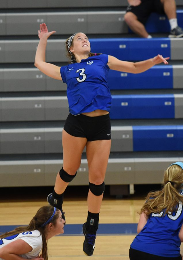 Meg Guignon, '19, said she has been waiting for an ODAC title her entire collegiate career. Photo courtesy of W&L Sports Info.