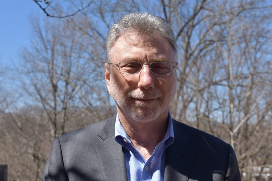 Marty Baron. Photo by Hannah Denham, '20.