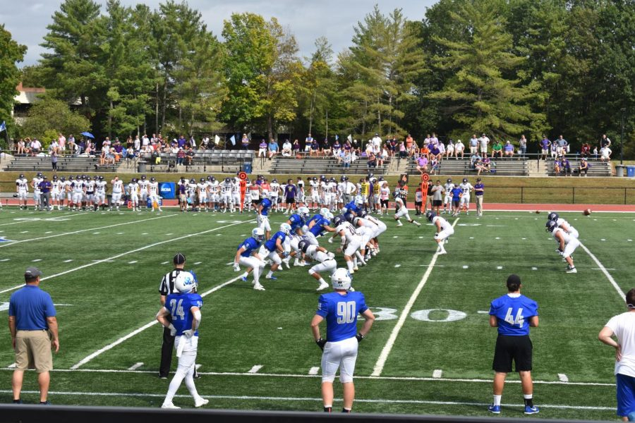 Generals football team beats Sewanee Tigers 42-7 in first win of the season