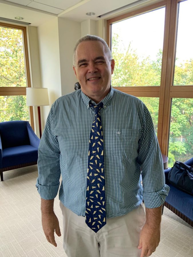 Scott Dittman will officially retire in 15 months but he will step down from his position as university registrar in June 2020. Photo by Emma Stoffel, '21.