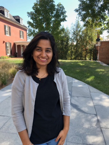 Professor Nandini Bhalla is a new member of the faculty in Reid Hall. Photo by Virginia Laurie.