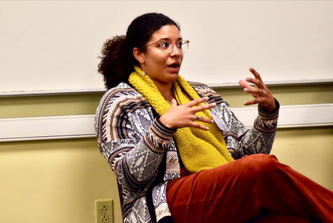 Leah Gose, '15, is a fourth-year doctoral student in sociology at Harvard University. Photo by Lilah Kimble, '23.