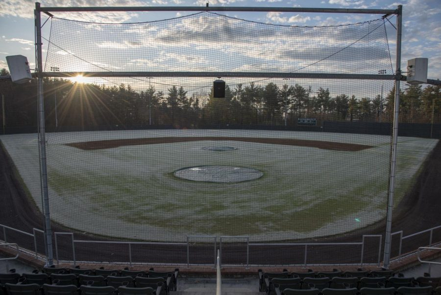 The ODAC unanimously voted to cancel all track and field, tennis, baseball, lacrosse, and golf spring seasons for 2020 as a result of COVID-19. Photo by Isaac Thompson, '21.