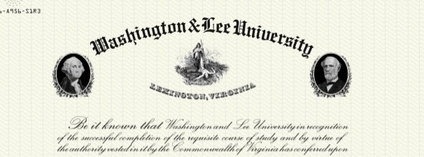 The+current+Washington+and+Lee+University+diploma%2C+for+both+law+and+undergraduate+students%2C+displays+portraits+of+George+Washington+and+Robert+E.+Lee.+%5BImage+from+online+petition%5D