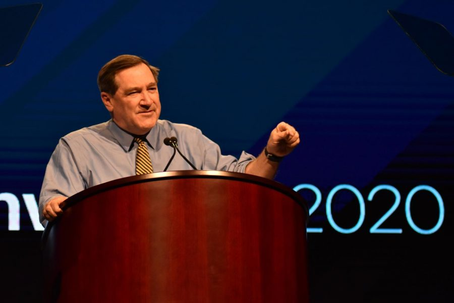 Former+Indiana+Sen.+Joe+Donnelly+%28D%29.+Photo+by+Lilah+Kimble.