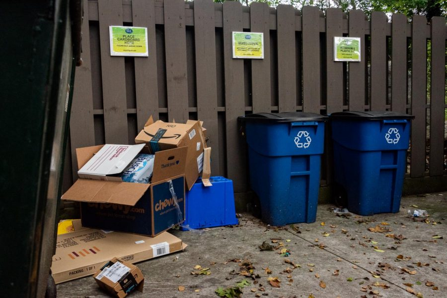 Washington and Lee still recycling after Lexington ends curbside services