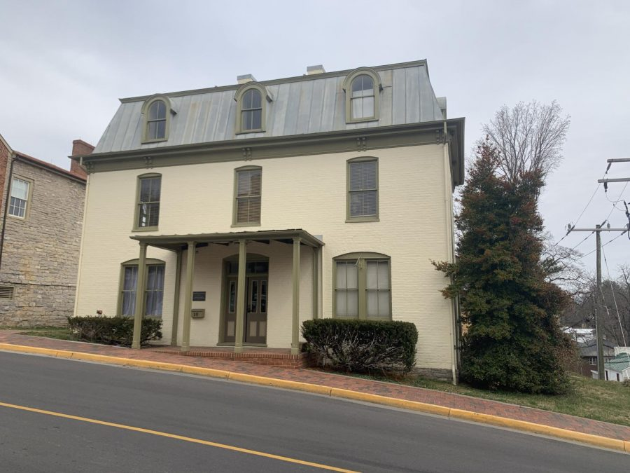 Stonewall Jackson House reopened at the beginning of March. Photo by Mary Alice Russell, '22.