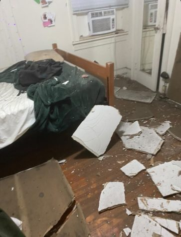 Students in Shock after Ceiling Collapses at Latinx Theme House