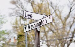 Street names associated with the Confederacy were a topic of heated debate at a recent City Council meeting. Photo by Lilah Kimble, '23