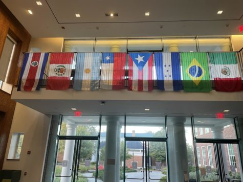 The class of 2025 has the most international students in Washington and Lee's history, with 33 students from 19 different countries on campus. Photo by Brianna Hatch, '23.