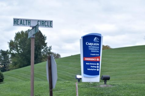 Staff and resources in local hospitals such as the Carilion Rockbridge Community Hospital have been hamstrung in the wake of a surge in COVID-19 cases, hospitalizations and deaths. Photo by Lilah Kimble, '23.